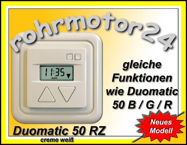 Duomatic R creme weiss