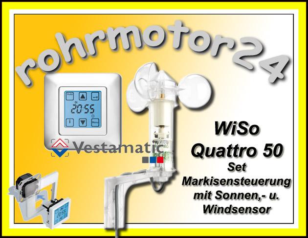 Vestamatic Wiso Quattro Markisen Steuerung Sonne