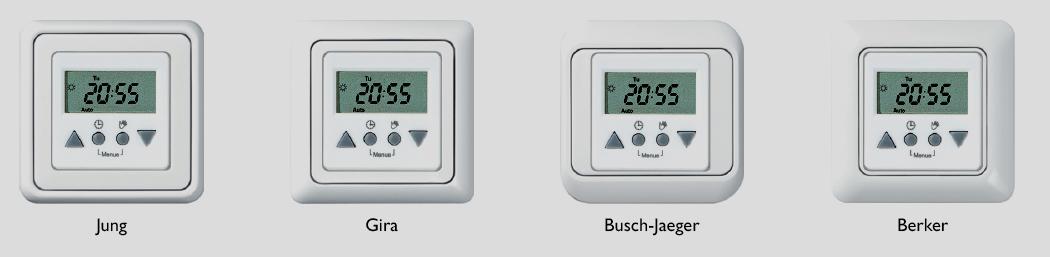 rolladen zeitschaltuhr f r busch j ger reflex si duro20 ebay. Black Bedroom Furniture Sets. Home Design Ideas