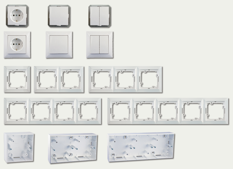 rolladen wippschalter schalter up steuerung rohrmotor. Black Bedroom Furniture Sets. Home Design Ideas