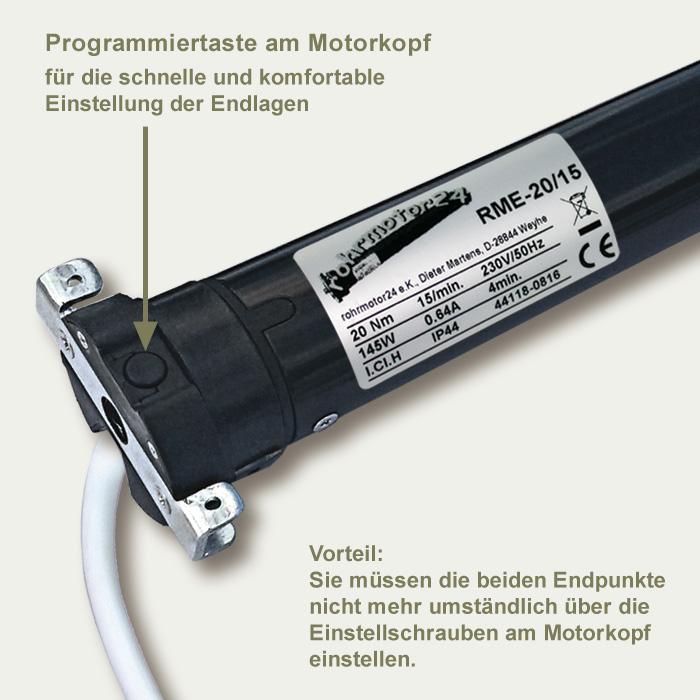 Rolladenmotor elektronisch RME-20/15