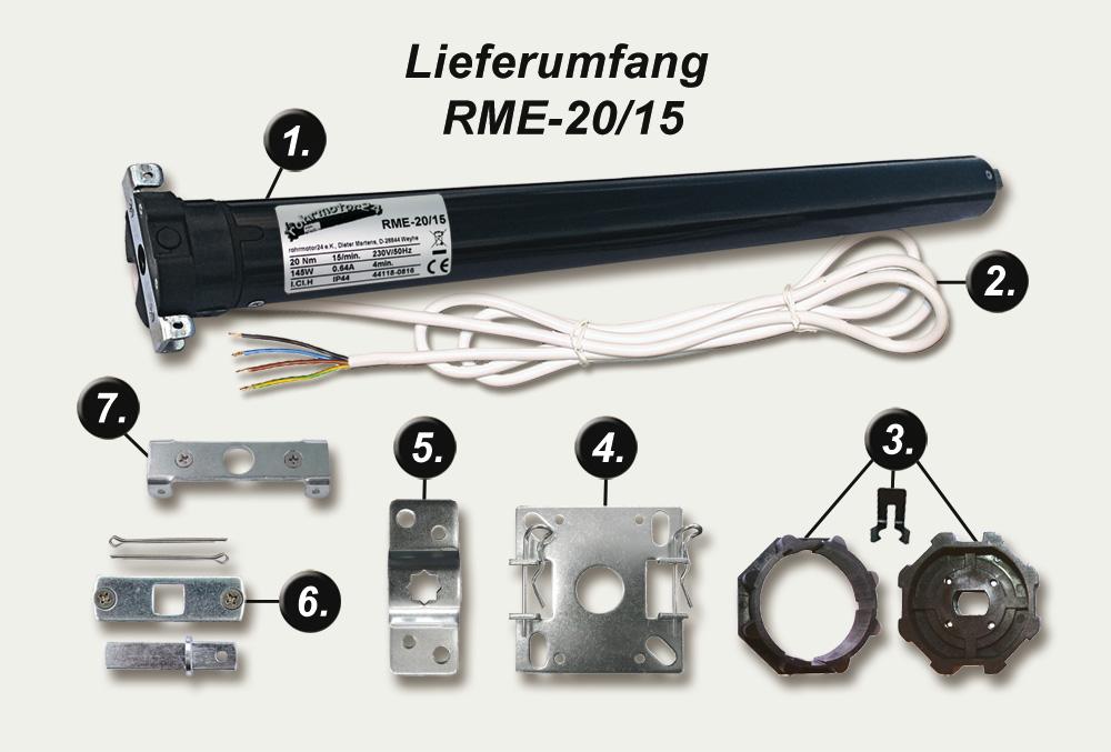 Rolladenmotor elektronisch RME-10/15