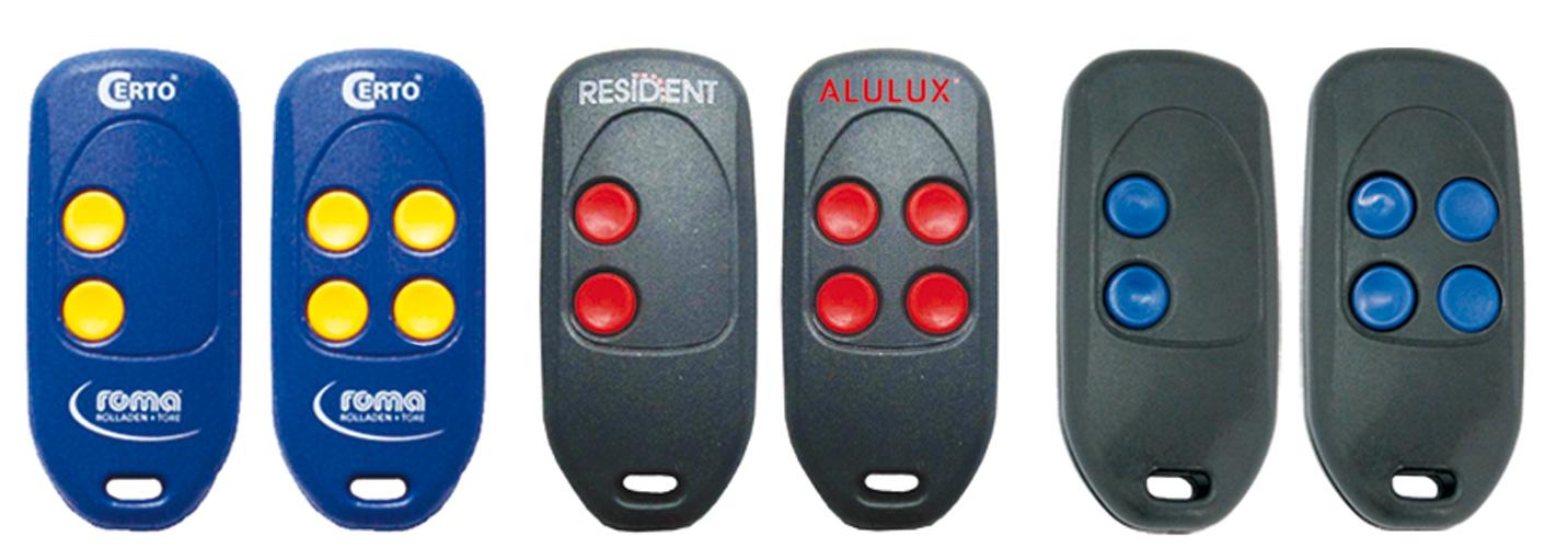Ersetzt den Handsender Alulux MT87A3 und MT87A4
