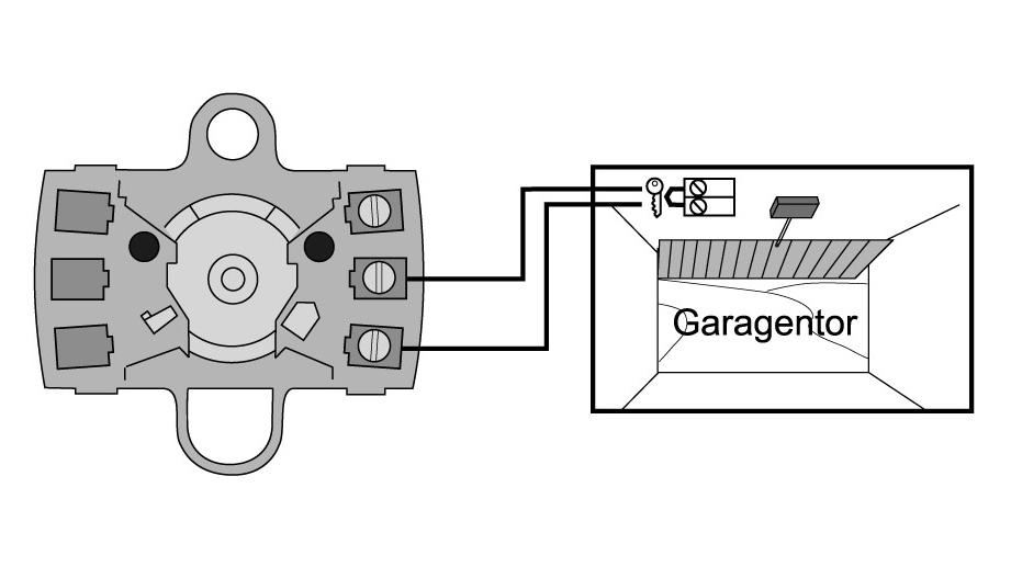 Berühmt Schlüsselschalter Rolltor Garagentor Schlüsseltaster Motor Aufputz SU54