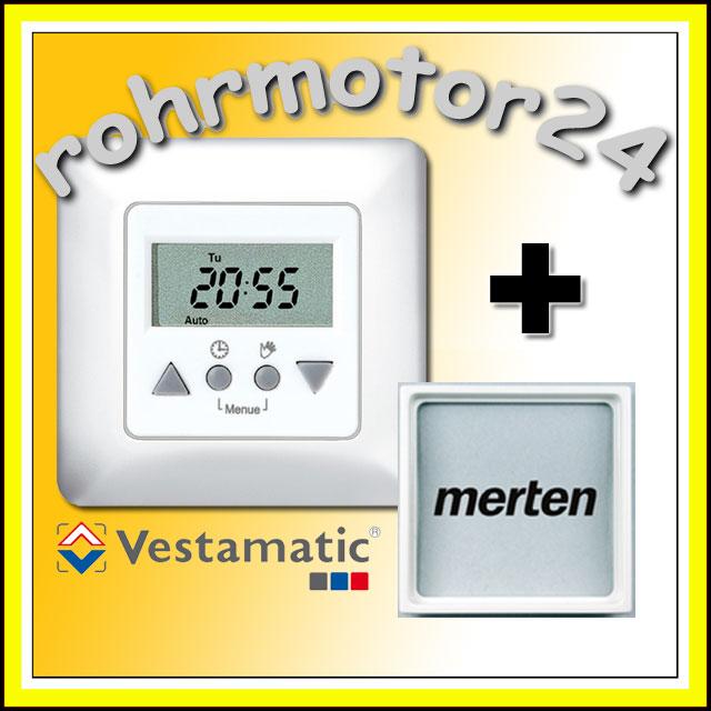 Zeitschaltuhr Rollladenmotor Vestamatic Easy Time Control Rollladen Rollo Motor
