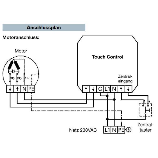 vestamatic touch control vrs rolladensteuerung 01813502 busch j ger si linear alpinweiss. Black Bedroom Furniture Sets. Home Design Ideas