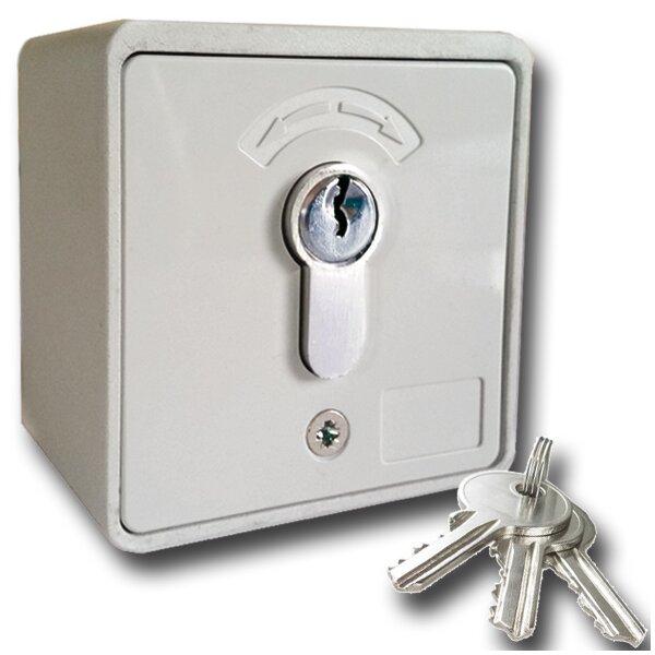 Gut bekannt GeBa Schlüssel-Schalter Raster/Taster + PHZ Aufputz IP54 - Rohrmotor24 UQ42