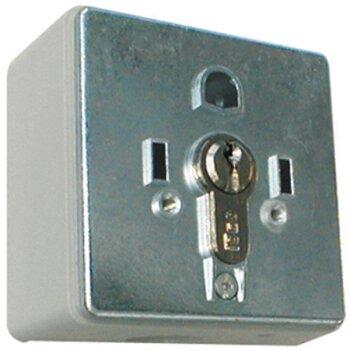 Schlüssel Schalter Schlüsselschalter unter Putz 1 seitigSchlüsseltaster